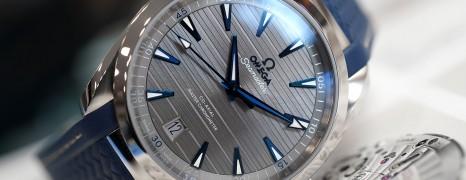 Omega Aqua Terra 150M Co-Axial Master Chronometer Grey Dial 41 mm
