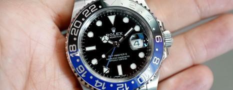 Rolex GMT-Master II Black Dial Black Blue Ceramic REF.116710BLNR (Batman) (08/2018)