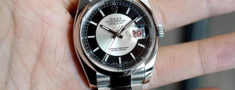Rolex Datejust Tuxedo Dial King Size 36 mm Ref.116200 (03/2019)