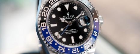 NEW!! Rolex GMT-Master II Black Blue Ceramic Jubilee 40 mm Ref.126710BLNR (Batman)(01/2020)