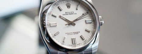 Rolex Oyster Perpetual White Dial 36 mm REF.116000 (Thai AD 07/2019)