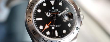 Rolex Explorer II Orange Hand Black Dial 42 mm Ref.216570 (10/2018)