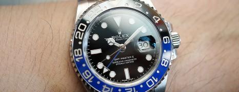 Rolex GMT-Master II Black Dial Black Blue Ceramic REF.116710BLNR (Batman) (06/2019)