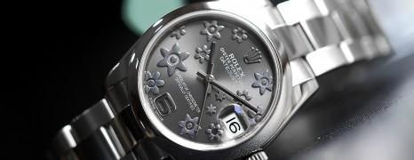 Rolex Datejust Lady Grey Floral Dial 31 mm Ref.178240 (Thai AD 06/2013)