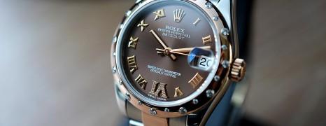 Rolex Datejust Everose Rolesor Chocolate VI Diamond 31 mm REF.178341 (10/2013)