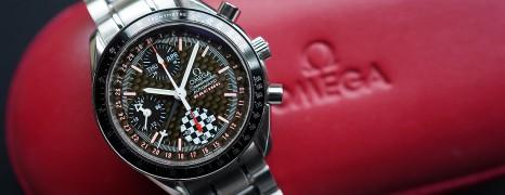 Omega Speedmaster Racing Michael Schumacher 2002 Limited 39 mm Ref.3529.50.00