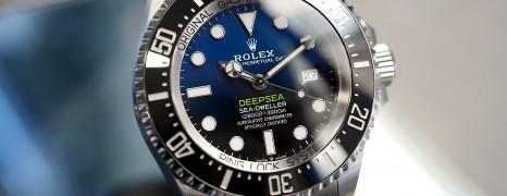 New!! Rolex Sea-Dweller Deepsea D-Blue 44 mm Ref.126660 (Thai AD 05/2020)