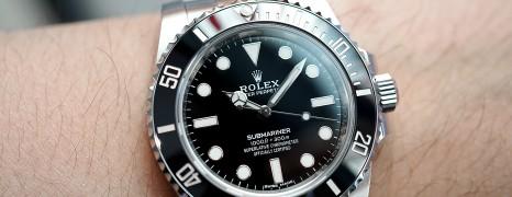 Rolex Submariner No Date Ceramic Ref.114060 40 mm (Thai AD 04/2020)