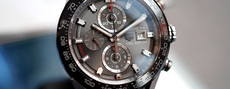 Tag Heuer Carrera Calibre Heuer 01 Automatic Grey Dial 45 mm (Thai AD 09/2019)