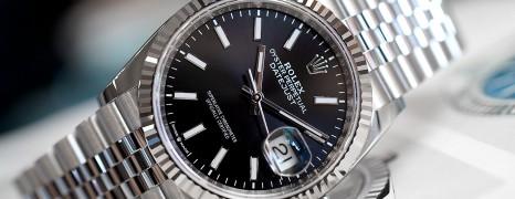 Rolex Datejust Jubilee Black Dial 36 mm Ref.126234 (Thai AD 05/2020)
