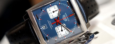 "Tag Heuer Monaco Calibre 11 ""McQueen"" Chronograph 39 mm (Thai AD 11/2019)"