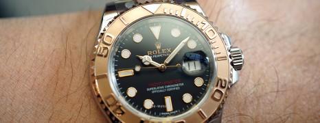 Rolex Yacht-Master 40 Everose Gold Black Dial 40 mm Ref.116621 (06/2017)
