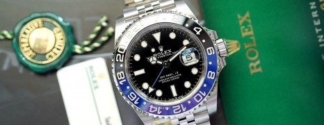 Rolex GMT-Master II Black Blue Ceramic Jubilee 40 mm Ref.126710BLNR (Batman)(Thai AD 10/2020)