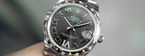 NEW!! Rolex Lady Datejust Dark Grey Dial Diamond Bezel 31 mm Ref. 278344RBR (เพชรกระจาย เพชร VI)(NEW 11/2020)