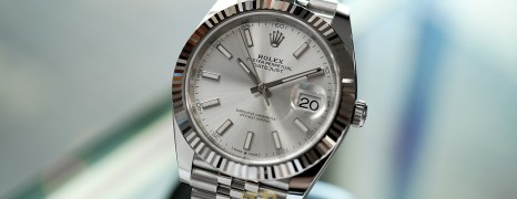 NEW!! Rolex Datejust 41 WhiteGold Bezel Silver Dial 41 mm Ref.126334 (NEW Card Thai AD 12/2020)