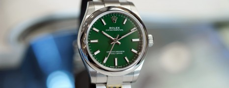NEW!!! Rolex Oyster Perpetual Green Dial 31 mm Ref.277200 (NEW THAI AD 01/2021)