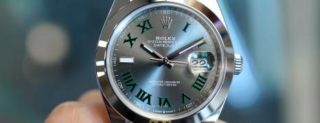 Rolex Datejust 41 Slate Grey Roman (Wimbledon) Dial 41 mm Ref.126300 (Thai AD 08/2020)