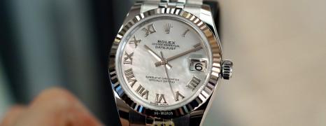 NEW!!! Rolex Datejust Jubilee MOP Roman Dial 31 mm REF.178274 (New Thai AD 02/2021)