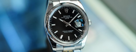 Rolex Oyster Perpetual Date Black Dial 34 mm (08/2016)