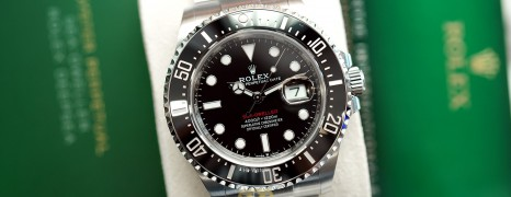 NEW!! Rolex Red Sea-Dweller 50th Aniversary 43 mm Ref.126600 (NEW CARD 04/2021)