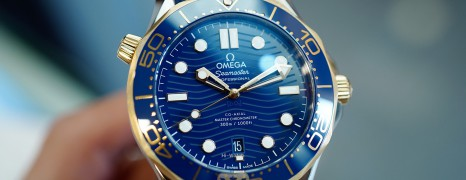 NEW!! Omega Seamaster Diver 300M Steel-Yellow Gold 18K Master Co-Axial Blue Dial 42 mm (NEW 03/2021)