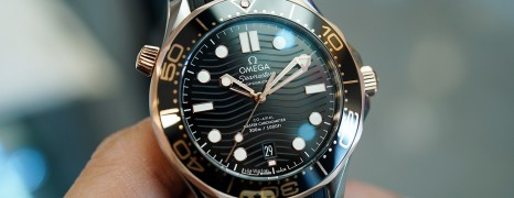 NEW!!! Omega Seamaster Diver 300M Sedna™ Gold 18K Master Co-Axial Black Dial 42 mm (NEW Thai AD 03/2021)
