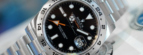 Rolex Explorer II Orange Hand Black Dial 42 mm Ref.216570 (02/2019)
