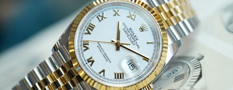 NEW!! Rolex Datejust Jubilee 2K White Dial 36 mm REF.126233 (New THAI AD 04/2021)