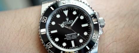 Rolex Submariner No Date Ceramic 40 mm Ref.114060 (New Old Stock 10/2017)