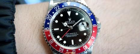 Rolex GMT-Master II Blue-Red Bezel(PEPSI) 40 mm Ref.16710 (07/2006)