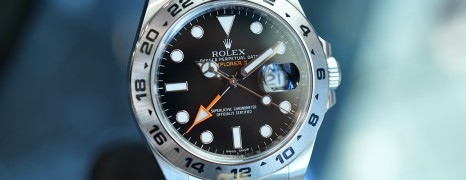 Rolex Explorer II Orange Hand Black Dial 42 mm Ref.216570 (01/2018)