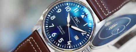 """NEW!! IWC Mark XVIII Edition """"LE PETIT PRINCE"""" Blue Dial 40 mm Ref.IW327010 (New Thai AD 04/2021)"""