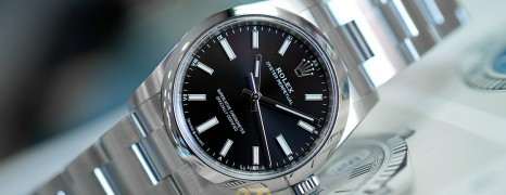 NEW!! Rolex Oyster Perpetual Black Dial 34 mm Ref.124200 (NEW Thai AD 04/2021)
