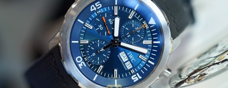 """IWC Aquatimer Chronograph Edition """"EXPEDITION JACQUES-YVES COUSTEAU"""" 44 mm Ref.IW376805 (Thai AD 04/2021)"""