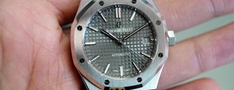 NEW!!! AP Audemars Piguet Royal Oak Grey Dial 37 mm REF.15450ST (NEW 05/2021)