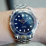 Omega Seamaster Diver 300 m Automatic Co-Axial Blue Ceramic Dial 41 mm (09/2017)