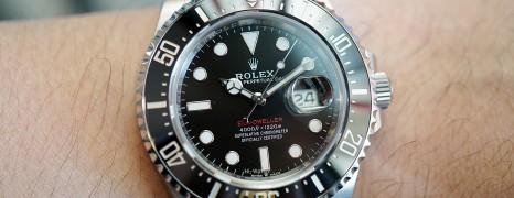 Rolex Red Sea-Dweller 50th Aniversary 43 mm Mark II Ref.126600 (Thai AD 09/2018)