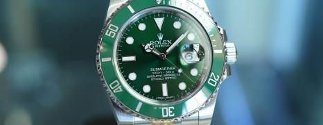 Rolex Submariner Date Green Ceramic 116610LV 40 mm (The Hulk) (Thai AD 02/2020)