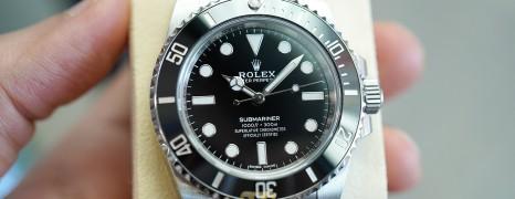 Rolex Submariner No Date Ceramic 40 mm Ref.114060 (03/2018)