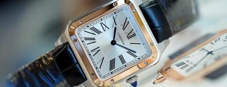 NEW!!! Cartier Santos Dumont 18K Rose Gold Bezel Size Large Ref.W2SA0011(New Thai AD 06/2021)