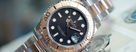 NEW!!! Rolex Yacht-Master Everose Gold Black Dial 37 mm Ref.268621 (New Thai AD 03/2021)