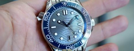 Omega Seamaster Diver 300M Omega Co-Axial Master Chronometer Grey Dial 42 mm (Thai AD 01/2021)