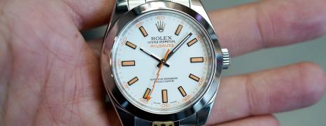 Rolex Milgauss White Dial 40 MM Ref.116400 (08/2010)