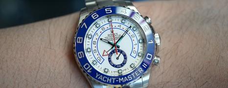 Rolex Yacht Master II White Dial Blue Ceramic 44 mm REF.116680 (03/2014)