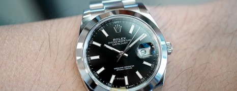 NEW!! Rolex Datejust 41 Black Dial 41 mm Ref.126300 (New Thai AD 06/2021)