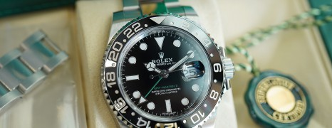 Rolex GMT-Master II Black Ceramic Green Hand 40 mm REF.116710LN (12/2018)