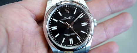 NEW!!! Rolex Oyster Perpetual Black Dial 41 mm REF.124300 (NEW THAI AD 04/2021)