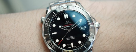 Omega Seamaster Diver 300 m Automatic Co-Axial Black Ceramic Dial 41 mm (04/2016)