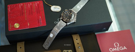 """NEW!!! Omega Seamaster Diver 300M """"007 Edition"""" 42 mm : NO TIME TO DIE (NEW Thai AD 06/2021)"""
