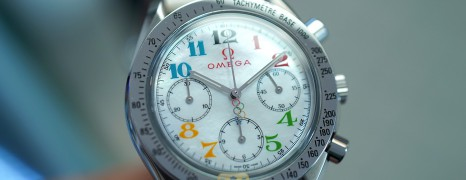 """Omega Speedmaster Automatic MOP Dial """"Olympic Games Collection"""" 35.5 mm (01/2006)"""
